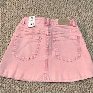 Zara Bottoms - NWT Pink Size 7 Jean Skirt